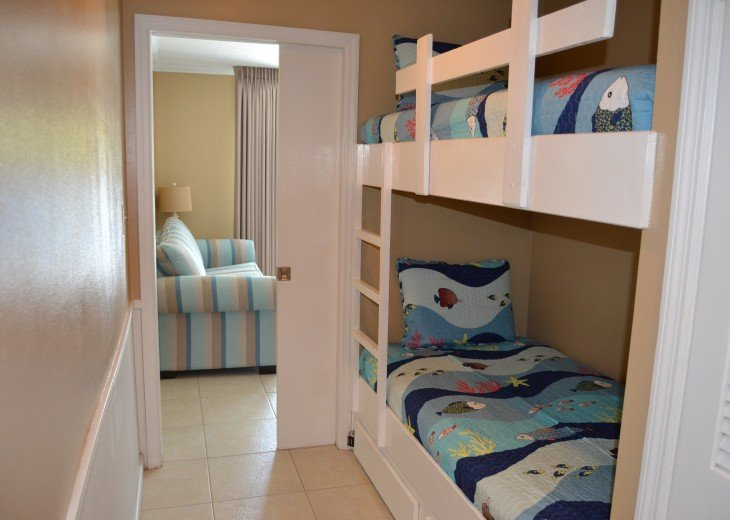Twin Bunks for Our Younger Guests