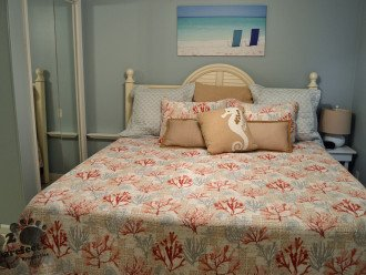 King Bed in Bedroom