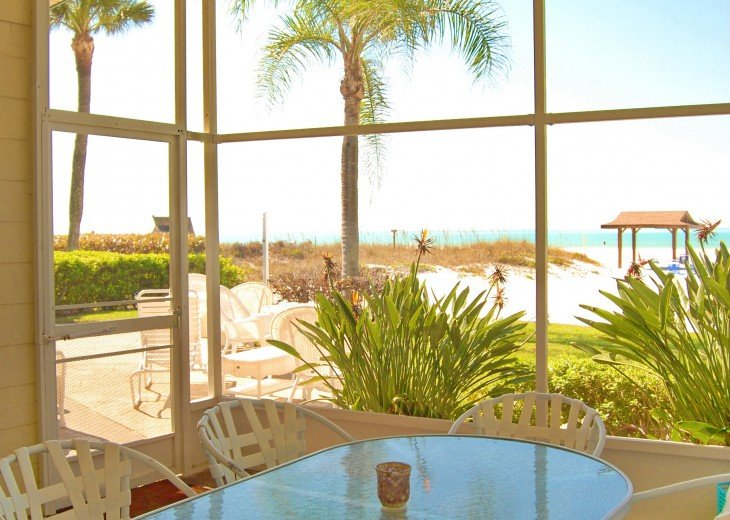 Renovated 4 bedroom directly on No 1 rated beach. Unobstructed views of gulf. #5