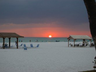 Renovated 4 bedroom directly on No 1 rated beach. Unobstructed views of gulf. #1