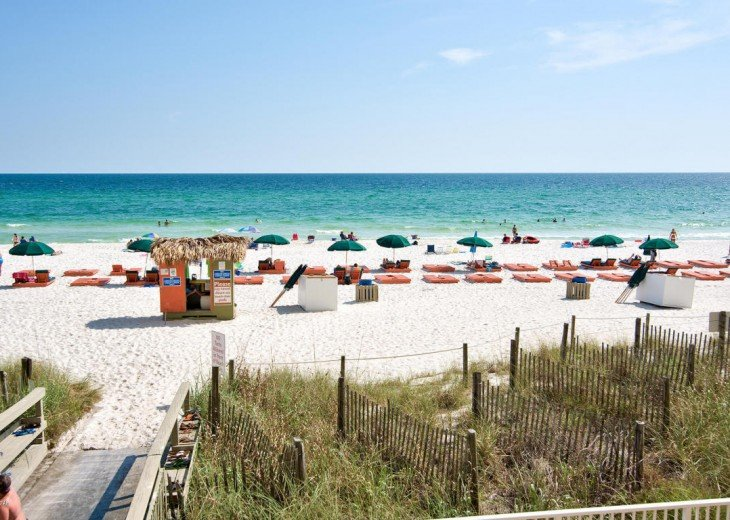 SALE!EMERALD ISLE,Ocean Front,Sleep 6,FREE Beach Chairs,Pier Park, PCB,FL #22