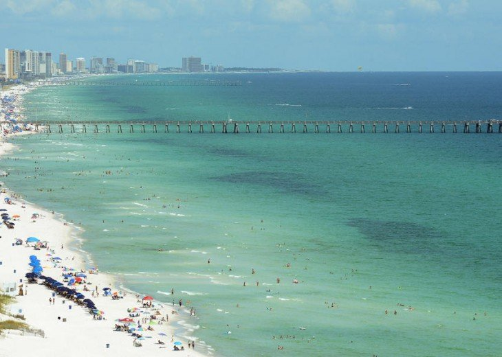 SALE!EMERALD ISLE,Ocean Front,Sleep 6,FREE Beach Chairs,Pier Park, PCB,FL #34