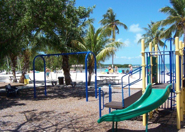 Playground at Founders Park, Islamorada