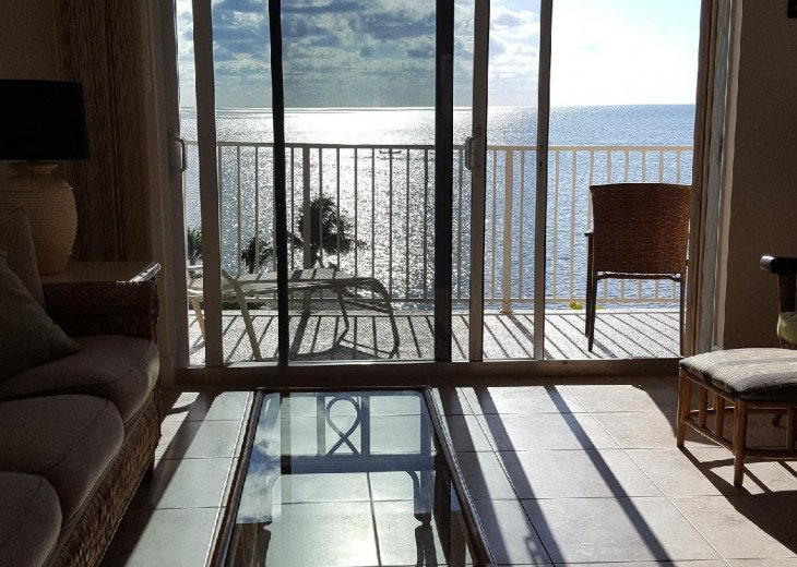 View of ocean from your living room
