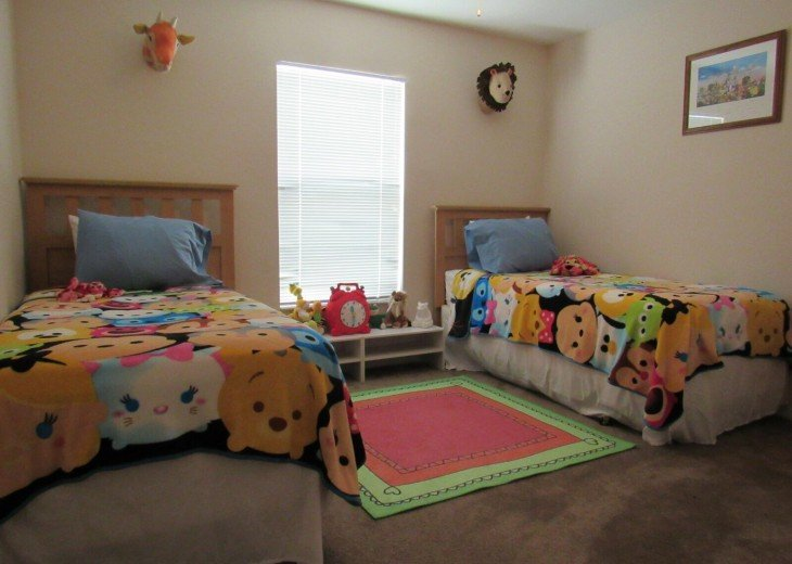 Themed twin room