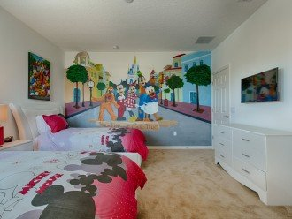 The Magic Kingdom themed twin suite