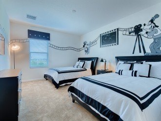 Our Hollywood Studios themed bedroom
