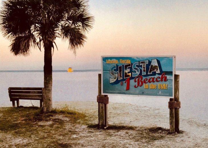 Siesta Key Luxury Condo 2/2, Pools, Tennis, Gym, walk to beach. #4