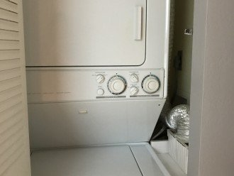 Yes, you have your very own Washer and Dryer in Unit