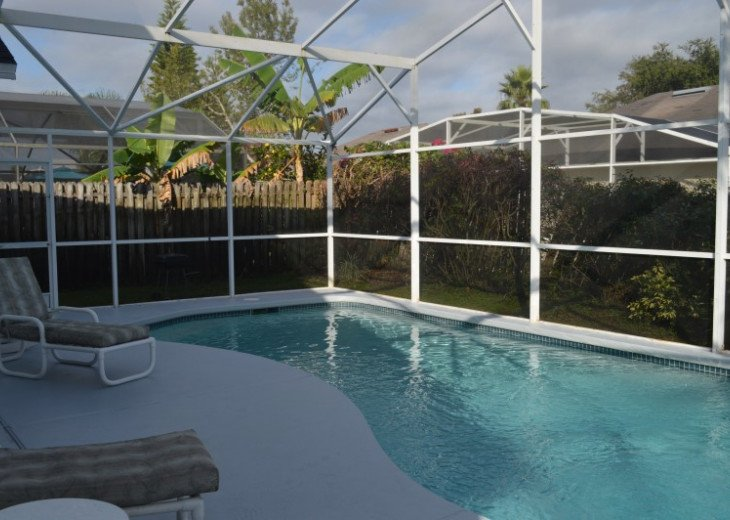 Vacation Rental Home Close to Disney, 4 Bdrm Private Pool, Free Internet #3