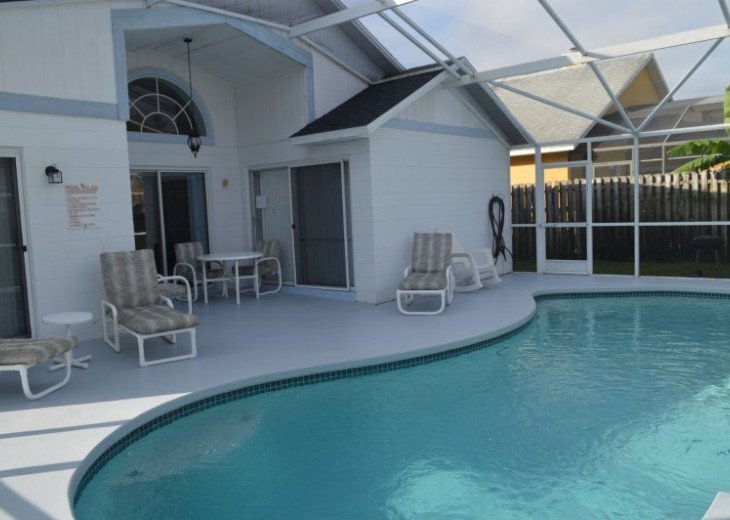 Relaxing Porch, Deck and Pool area.
