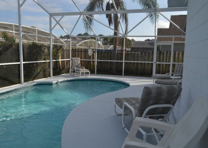 Vacation Rental Home Close to Disney, 4 Bdrm Private Pool, Free Internet #35