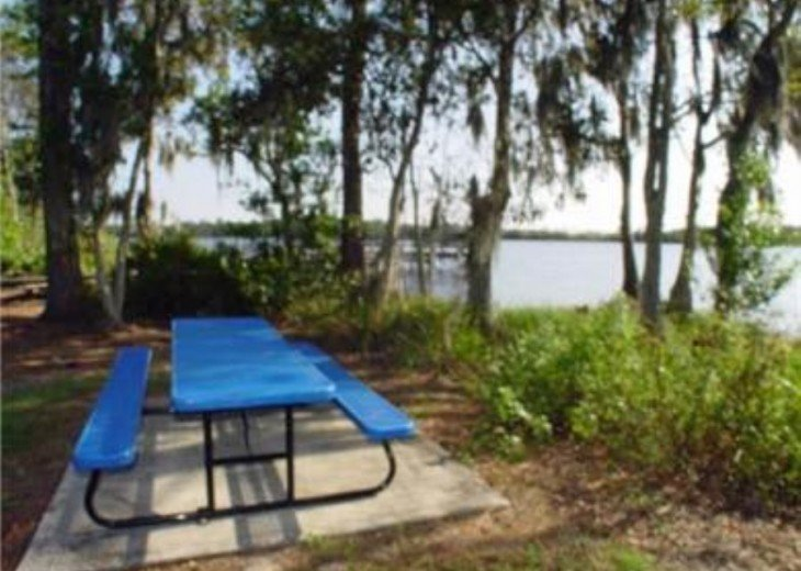 Picnic Area by Lake Davenport