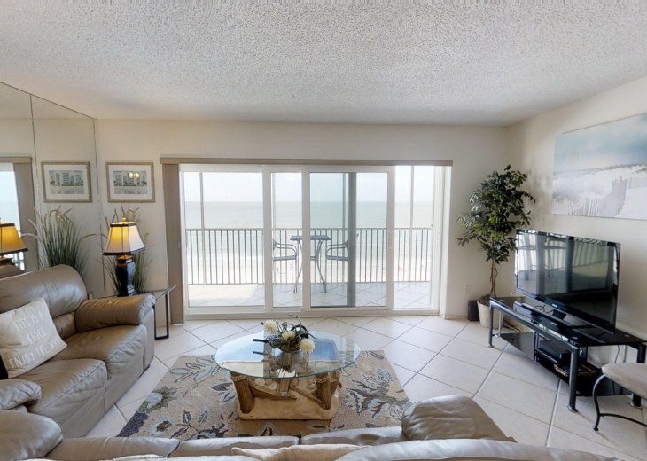 BEAUTY AT THE BEACH--Full front Gulf view!! Crescent Arms 601S #6