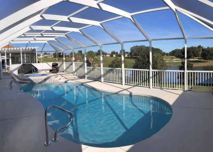 Private POOL/SPA with SPECTACULAR Golf View #1
