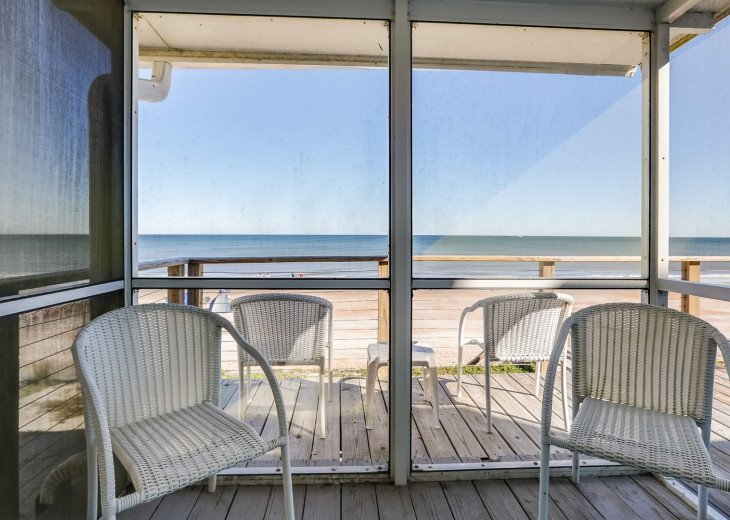 Upscale Oceanfront 1 Level Home-Great Views-Huge Deck-Screen Porch-Pets OK #19