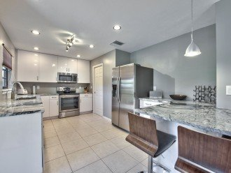 Fully Stocked Kitchen with Luxury Appliances; Granite Counter-tops
