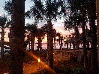 Calypso Resort Sunset looking towards the west