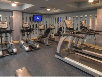 Calypso on site fitness center~ free weights, treadmills, bikes & ellipticals