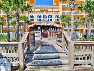 Beach Access & Tiki Bar for Calypso Resort Guests only