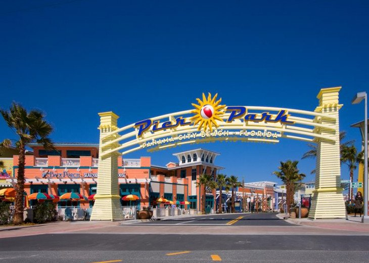 Calypso Resort is the closest Resort to Pier Park~just a jaunt across the street