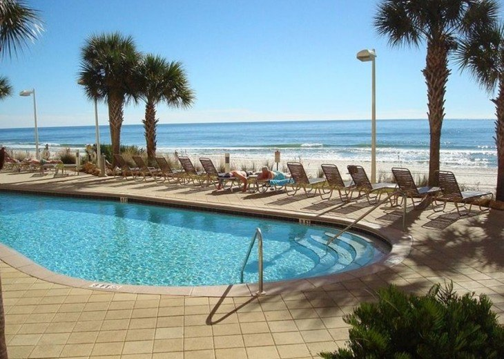 One of Calypso's two beach side Olympic size pools~for Calypso Guests only.