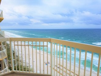 Gulf views from your private wrap around balcony!