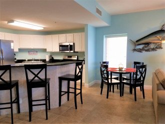 Separate dining table is perfect for families for meals or play games together!