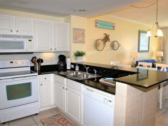 Open concept main living area and kitchen for family togetherness