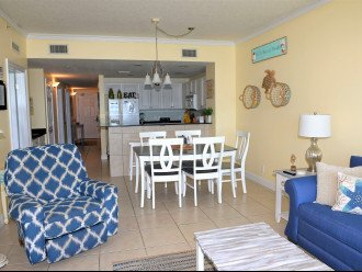 Open concept kitchen & living area, great for family fun or entertaining guests