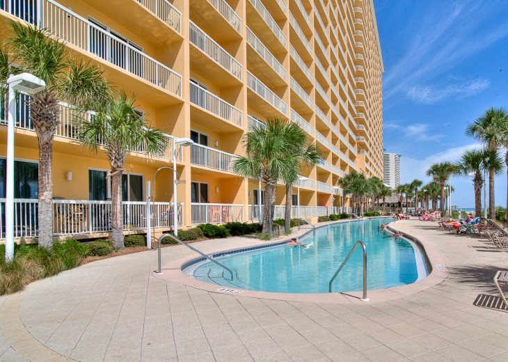 1 of 2 Olympic length beach side pools at Calypso~for Calypso guests only!