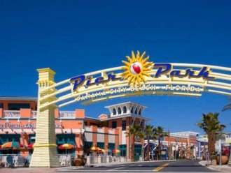 Calypso is the closest resort to Pier Park~a short stroll across the street