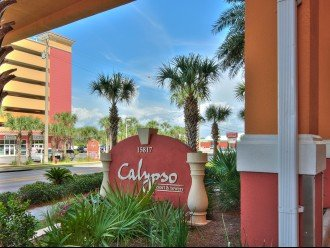 Calypso Resort entrance