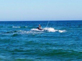 Tons of fun water sports & beach fun to choose from~ jet skiing...