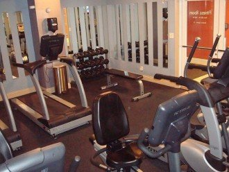 Calypso On-site Fitness Center w/ weights, treadmills, bikes & ellipticals