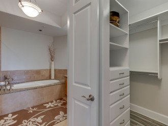 Walk-in Closet with organizers