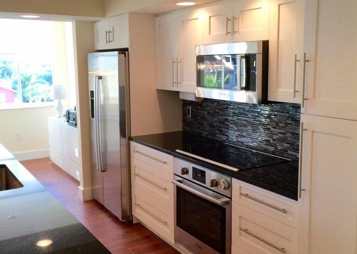 Kitchen with modern BOSCH appliances