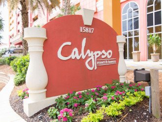 Calypso Resort & Towers entrance - 15817 Front Beach RD, PCB