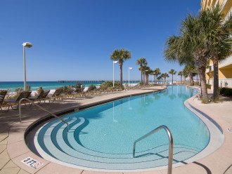 Great view~ 1 of 2 lagoon style beachside pool~ for Calypso guests only!