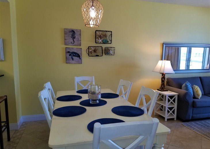 Separate dining area~ great for family dinners & sharing the days events
