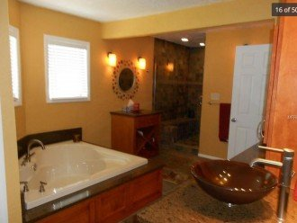 Master bath (large walk-in closet not pictured)