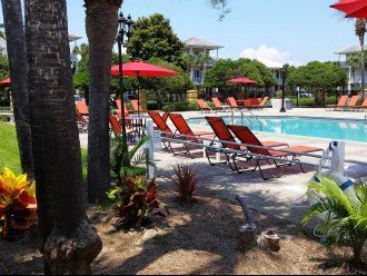 Main Pool only 1 home away. Seasonally heated. Book Now at GULF911 website.