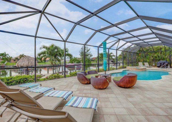 Villa Gasparilla - SW Cape Coral 3b/2ba + den luxury home w/electric heated pool #12