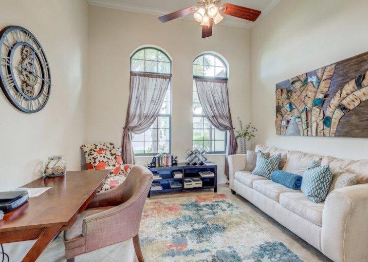 Villa Gasparilla - SW Cape Coral 3b/2ba + den luxury home w/electric heated pool #16