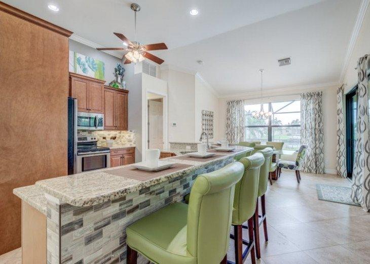 Villa Gasparilla - SW Cape Coral 3b/2ba + den luxury home w/electric heated pool #24