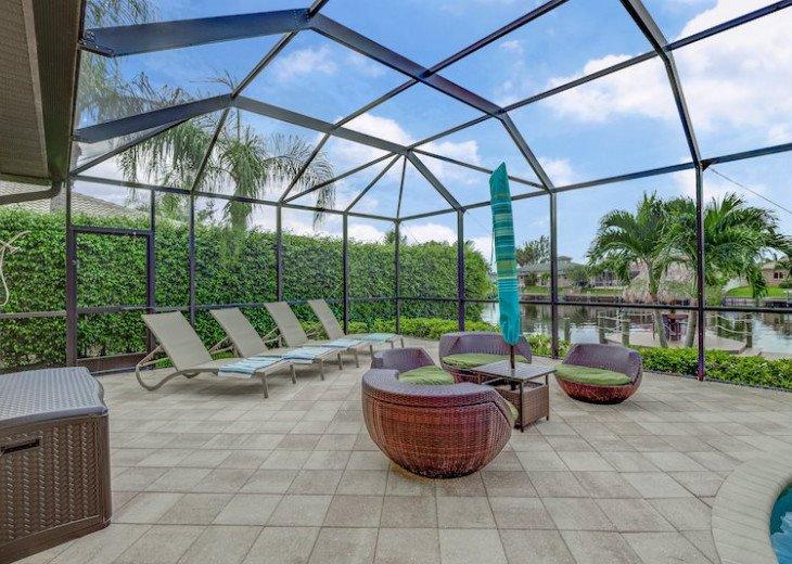 Villa Gasparilla - SW Cape Coral 3b/2ba + den luxury home w/electric heated pool #15
