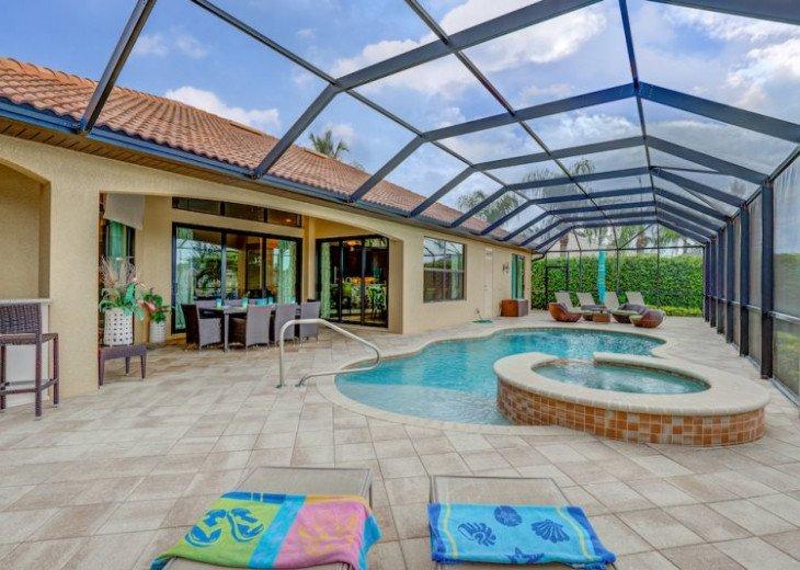 Villa Gasparilla - SW Cape Coral 3b/2ba + den luxury home w/electric heated pool #9