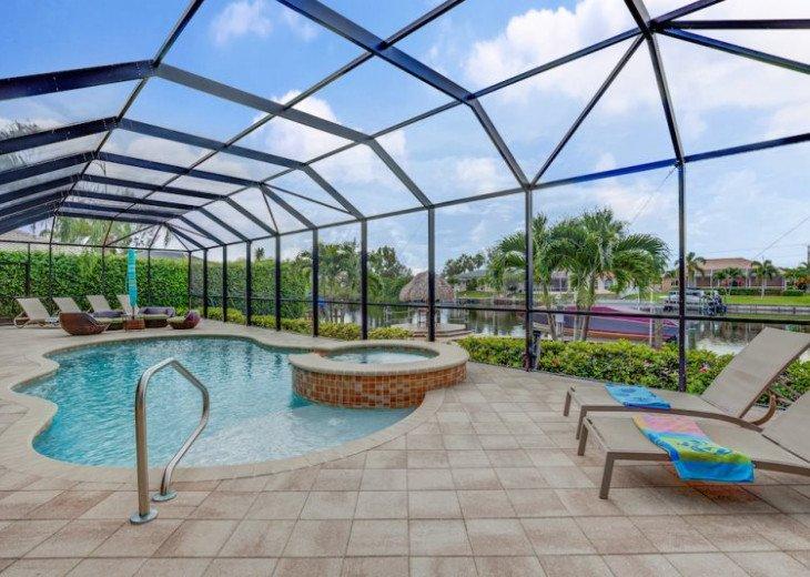 Villa Gasparilla - SW Cape Coral 3b/2ba + den luxury home w/electric heated pool #8