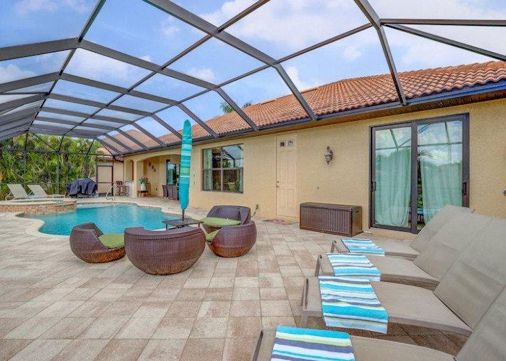 Villa Gasparilla - SW Cape Coral 3b/2ba + den luxury home w/electric heated pool #11