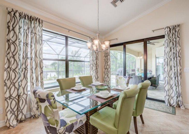 Villa Gasparilla - SW Cape Coral 3b/2ba + den luxury home w/electric heated pool #18